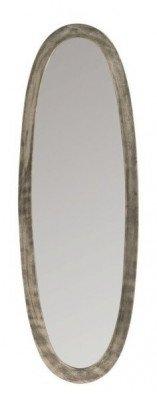 J-Line J-Line Ovale Spiegel 'Josee' Small, kleur Antiek Grijs