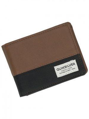 Quiksilver Quiksilver Native Country 2 Wallet bruin