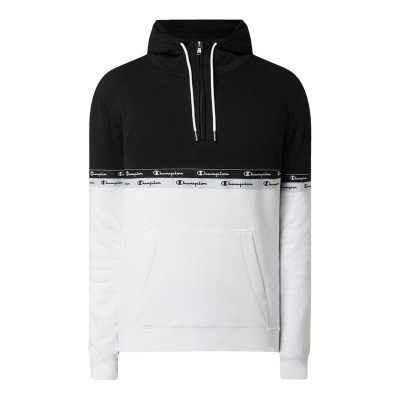 Champion Comfort fit hoodie met logostrepen