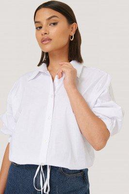 Trendyol Trendyol Cropped Blouse - White