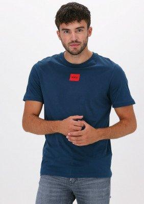 HUGO Blauwe Hugo T-shirt Diragolino212 10229761