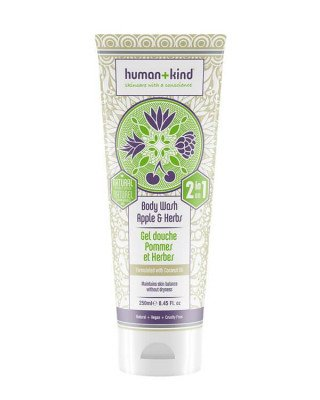 Human+Kind Human+Kind - All-in-One Shampoo+Body Wash Apple & Herbs - 250 ml