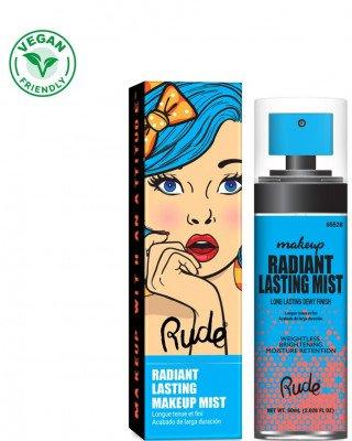 Rude Cosmetics Rude Cosmetics Radiant Lasting Makeup Mist Rude Cosmetics - Radiant Lasting Makeup Mist RADIANT LASTING MAKEUP MIST