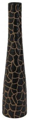 Light en Living Light & Living Vaas 'Jirafa' 60cm, kleur Donkerbruin