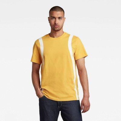 G-Star RAW Sport Insert T-Shirt - Geel - Heren