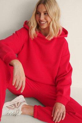 NA-KD Trend NA-KD Trend Organisch Oversized Hoodie - Red