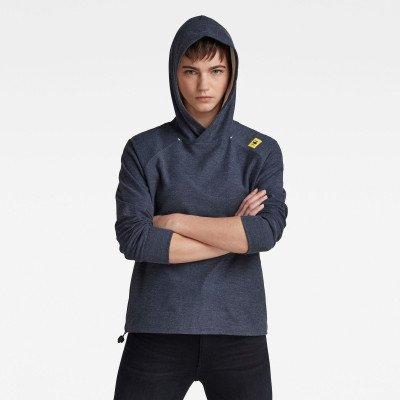 G-Star RAW Hooded Tweater - Midden blauw - Dames