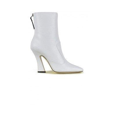 Fendi White nappa laarzen