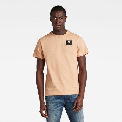 G-Star RAW Badge Logo T-Shirt - Roze - Heren