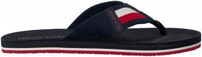 Tommy Hilfiger Blauwe Tommy Hilfiger Slippers Sporty Corporate Beach