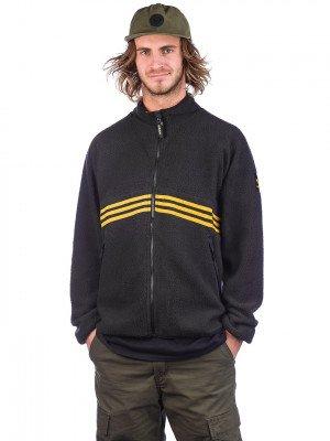 adidas Skateboarding adidas Skateboarding Sherpa Full Zip Jacket zwart