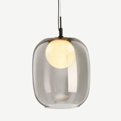 MADE.COM Masako LED glazen hanglamp