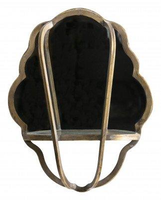 BePureHome BePureHome Spiegel 'Reflect' 51 x 40cm, kleur Antique Brass