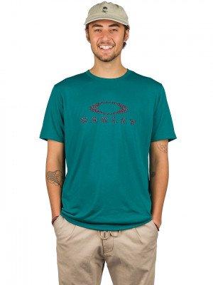 Oakley Oakley Dots Ellipse T-Shirt groen