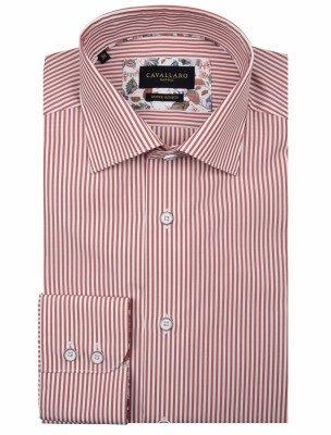 Cavallaro Napoli Cavallaro Napoli Heren Overhemd - Elisio Overhemd - Roze