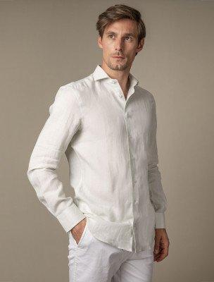 Cavallaro Napoli Cavallaro Napoli Heren Overhemd - Leo Overhemd - Lichtgroen