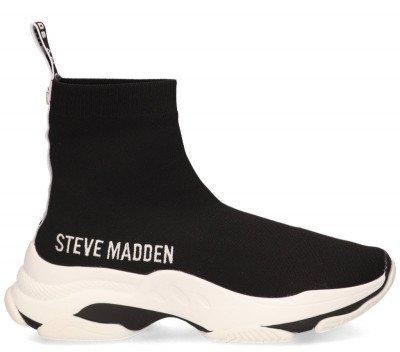 Steve Madden Steve Madden Master Zwart/Wit Damessneakers