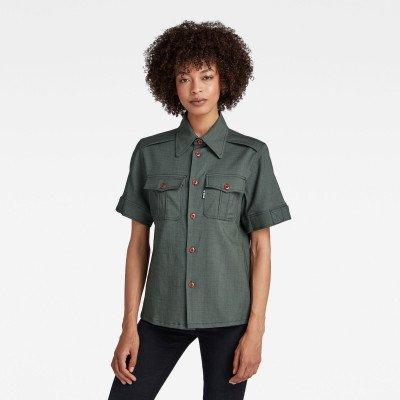 G-Star RAW Officer Shirt - Grijs - Dames