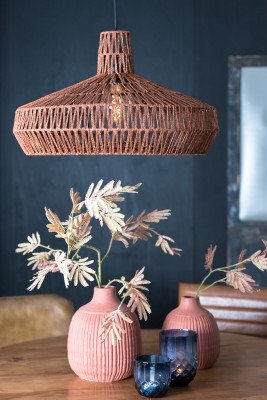 Light en Living Light & Living Hanglamp 'Masey' 59cm, terra