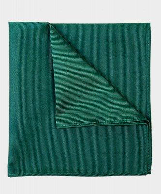 Michaelis Michaelis heren zijden pochet groen