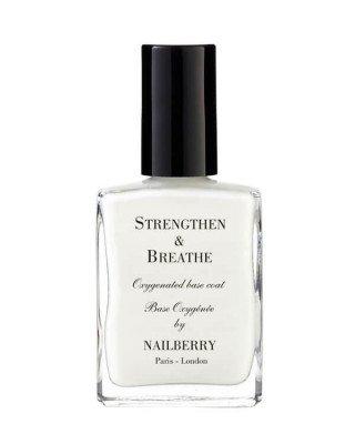 Nailberry Nailberry - Strengthen & Breathe Base Coat - 15 ml