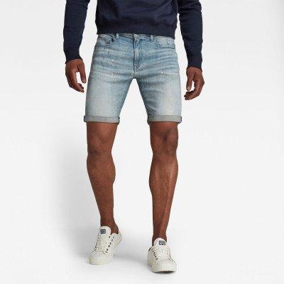 G-Star RAW 3301 Denim Slim Shorts - Lichtblauw - Heren