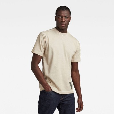G-Star RAW Raw Construction OD Loose T-Shirt - Beige - Heren
