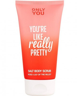 Only You Only You Salt Body Scrub Only You - ROSE & LILY-OF-THE-VALLEY Peeling / Scrub