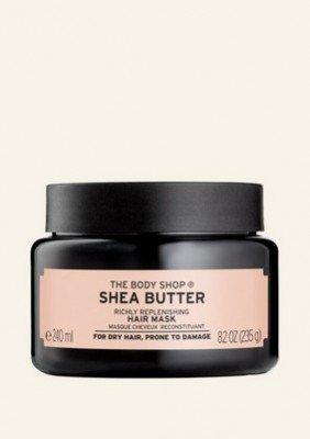 The Body Shop NL Shea Butter Richly Replenishing Hair Mask 240 ML