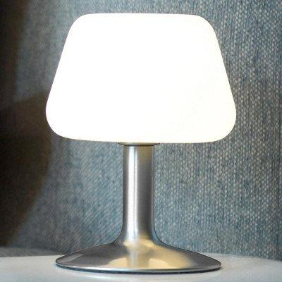 PAUL NEUHAUS Kleine LED tafellamp Till m. touchdimmer, staal