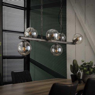 LifestyleFurn Hanglamp 'Jinte' 6-lamps, Ø15cm