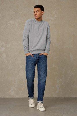 Kings of indigo Kings of Indigo - HIDEO knitwear Male - Grey