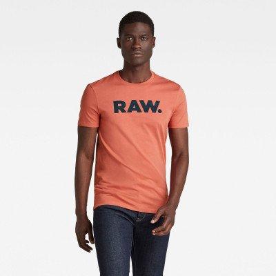 G-Star RAW RAW. Slim T-Shirt - Rood - Heren