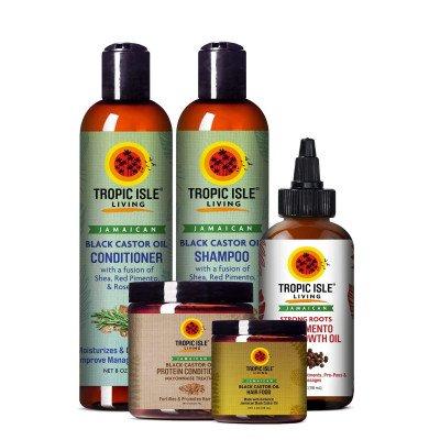 Tropic Isle Living Castor Oil Hair Care System 1 Tropic Isle Living