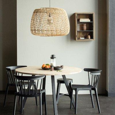 WOOOD Exclusive WOOOD Hanglamp 'Moza' kleur Naturel, Ø70cm
