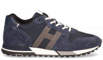 Hogan Hogan H383 Blauw Herensneakers