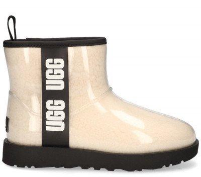 UGG UGG Classic Clear Mini Ecru Dames Enkelboots