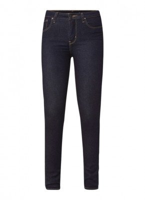 Levi's Levi's 721 High waist skinny fit jeans met donkere wassing