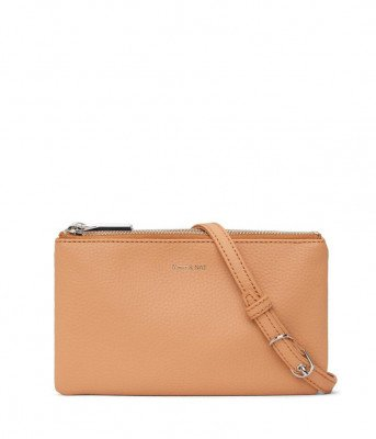 Matt & Nat Matt & Nat Triplet Dwell Crossbody bag Melon