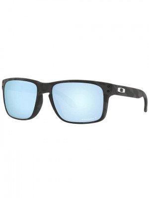 Oakley Oakley Holbrook Matte Black Camo Sunglasses zwart
