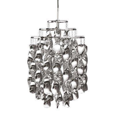 Verpan VERPAN Spiral Mini - hanglamp in zilver