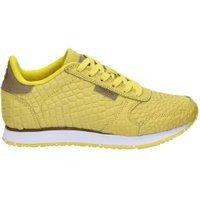 Woden Woden Ydun Croco lage sneakers