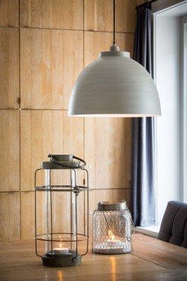 Light en Living Light & Living Hanglamp 'Kylie' 45cm, kleur Beton