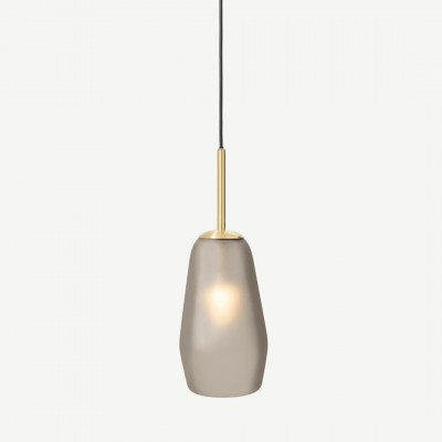 MADE.COM Corben badkamer hanglamp, matglas