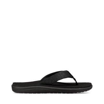 Teva Teva Voya Flip Sandalen, Zwart voor Heren, Maat 40.5