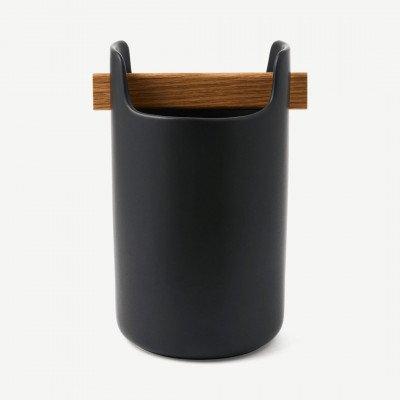 MADE.COM Eva Solo keukengereihouder, 20 cm, zwart