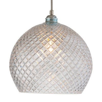 Ebb en Flow EBB & FLOW Rowan hanglamp, zilver Ø 28cm