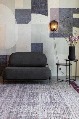 ZILT ZILT Vloerkleed 'Liv' 170 x 240cm, kleur Plum