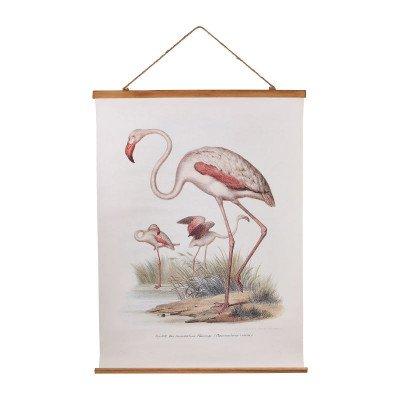 Xenos Vintage poster - flamingo - 50x70 cm