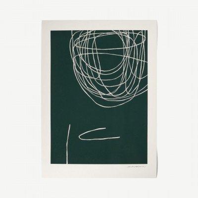 MADE.COM The Poster Club, Rising, print door Leise Dich Abrahamsen, 50 x 70 cm